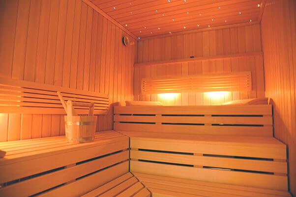 Sauna im Roten Einhorn Düren